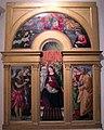 Ansano di michele ciampanti. madonna in trono e santi, 1500 ca..JPG