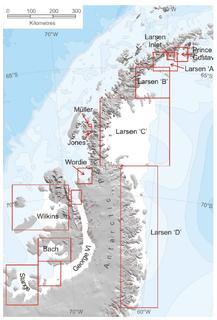 Larsen Ice Shelf Ice shelf in Antarctica