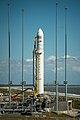 Antares Orb-D1 rocket on pad at Wallops (201309170005HQ).jpg