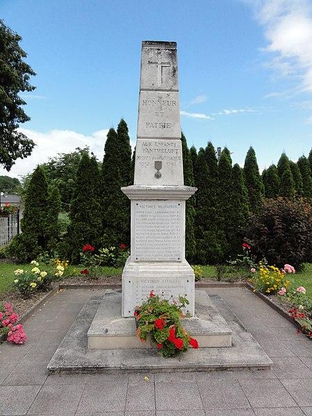 Anthelupt (M-et-M) monument aux morts