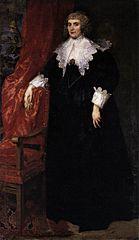 Portrait of Anna van Craesbecke