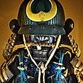 Antique Japanese (samurai) suji bachi kabuto 4.jpg