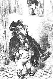 Antisemitic caricature 1873