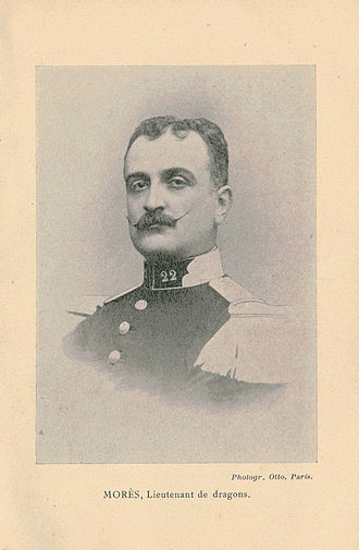 Marquis de Morès - Lieutenant de Morès