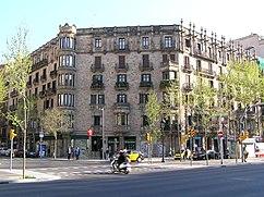 Casa Farreras en Gran Via de les Corts Catalanes, Barcelona (1902)