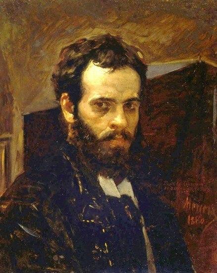 Antonio Herrera Toro Autoretrato 1880