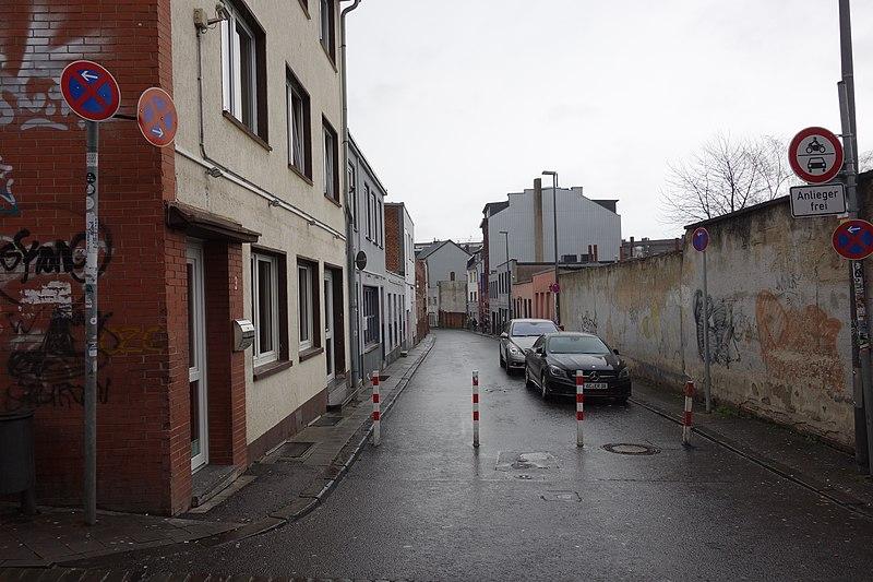 File:Antoniusstraße, Aachen, von Nikolausstraße.jpg