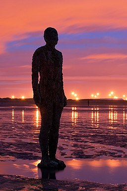 Antony Gormley - Another Place - Crosby Beach 01