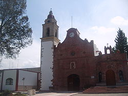Church of Francis of Assisi in Apaxco