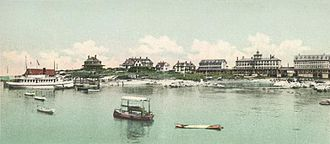 Isles of Shoals - The Appledore House in 1901