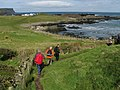 Approaching Dunseverick harbour - geograph.org.uk - 1257086.jpg