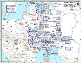Dnieper–Carpathian Offensive World War II military offensive