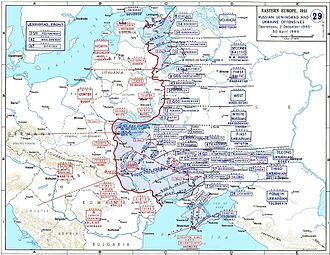 Dnieper–Carpathian Offensive - Soviet advances during the operation