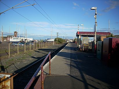 How to get to Ardrossan Harbour with public transport- About the place