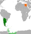 Argentina Egypt Locator.png