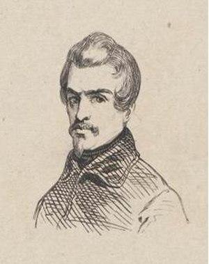 Arie Johannes Lamme - Arie Johannes Lamme by an unknown artist (1842)