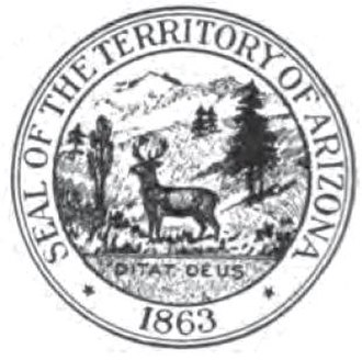 Seal of Arizona - Second Territorial seal