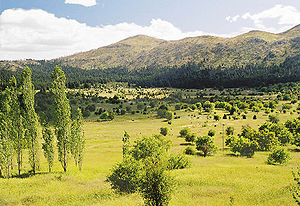Arcadia (ancient region) - Landscape of Arcadia