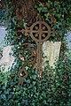 Arkesden Church of St Mary churchyard iron grave marker, Essex, England.jpg
