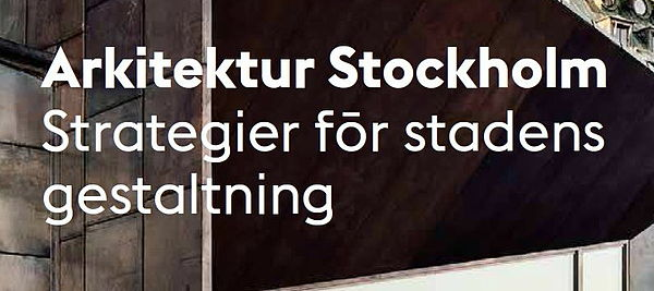 Arkitektur Stockholm РStrategier f̦r stadens gestaltning - Wikiwand