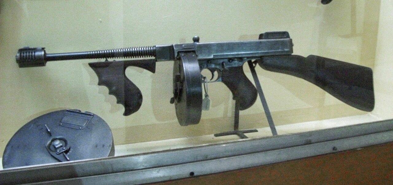 Thompson submachine gun - Wikiwand