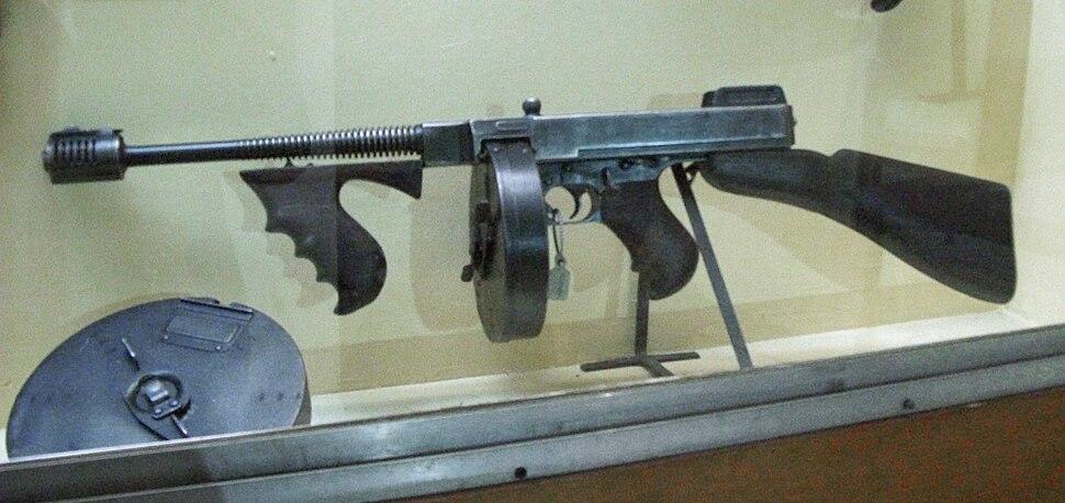 Thompson submachine gun - Howling Pixel