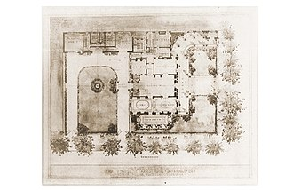 Armstrong Kessler Mansion (Savannah, Georgia) - Image: Armstrong House Historic Site Plan