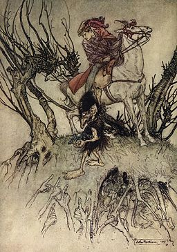 Arthur Rackham 1909 Undine (8 of 15)