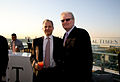 Arthur Sulzberger Jr and Sir Howard Stringer at FT Spring Party.jpg