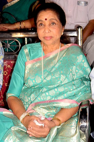 Filmfare Award for Best Female Playback Singer - Image: Asha Bhosle at Bhubaneswar