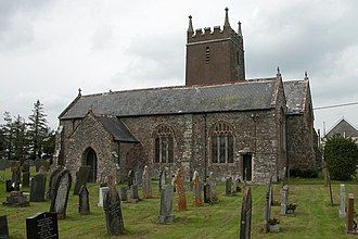 Ashreigney - Image: Ashreigney Church geograph.org.uk 171279