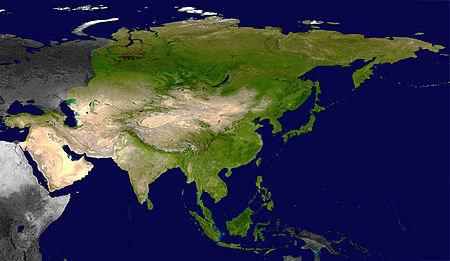 Địa lý châu Á