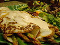 Asparagus Crepe with Vegan Hollandaise (3930200459).jpg
