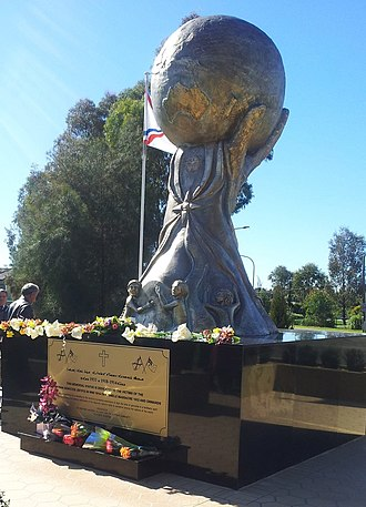 Bonnyrigg, New South Wales - The Assyrian genocide monument is a memorial site for the Assyrian community.