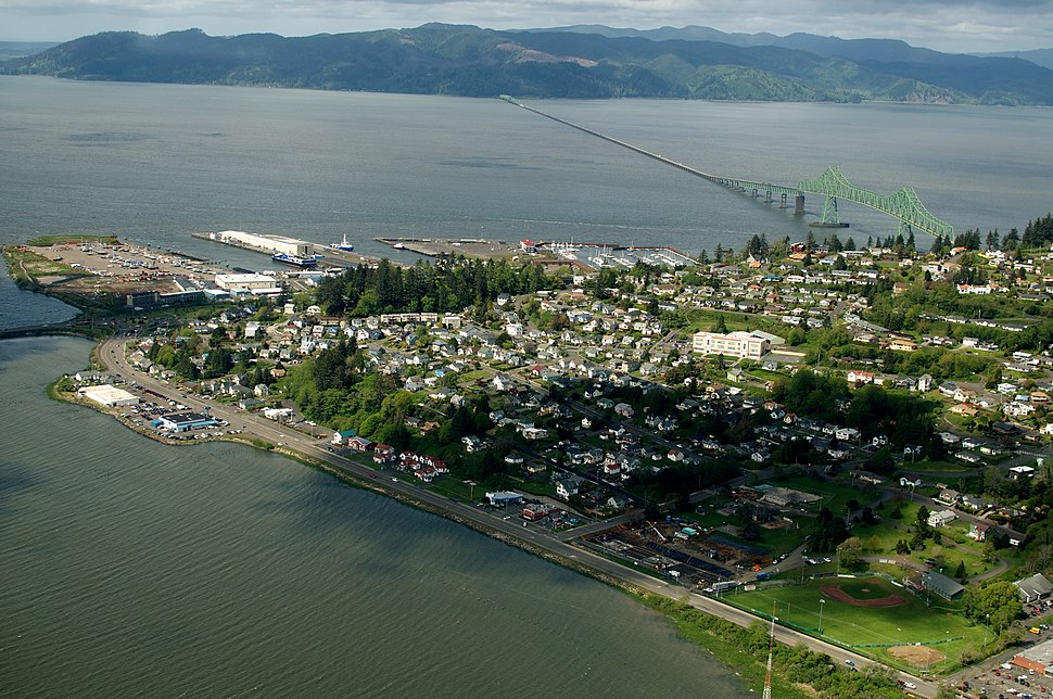 Astoria aerial from Youngs Bay - panoramio