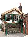 Attleborough railway station - the signal box - geograph.org.uk - 1408049.jpg