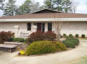 Auburn City Schools - Image: Auburn Alabama City Schools Administration Building