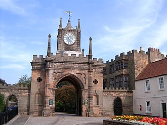 Bishop Auckland - Auckland Castle's Gatehouse