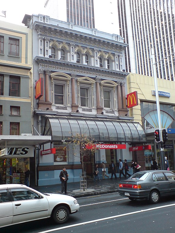 File:Auckland Savings Bank Outside, McDonalds.jpg - Wikipedia