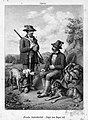 August Dircks (1806-1871), Frische Septemberlust – Jäger zum Jagen ruft, Lithographie nach L. Beckmann, D1801.jpg