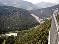 Ausblick von der Aussichtsplattform Conn oder Il Spir auf den Schweizer Oberrhein - panoramio.jpg