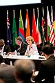 Australia's Minister for Foreign Affairs Julie Bishop chairs the IORA plenary (Perth, Nov 1st, 2013).jpg