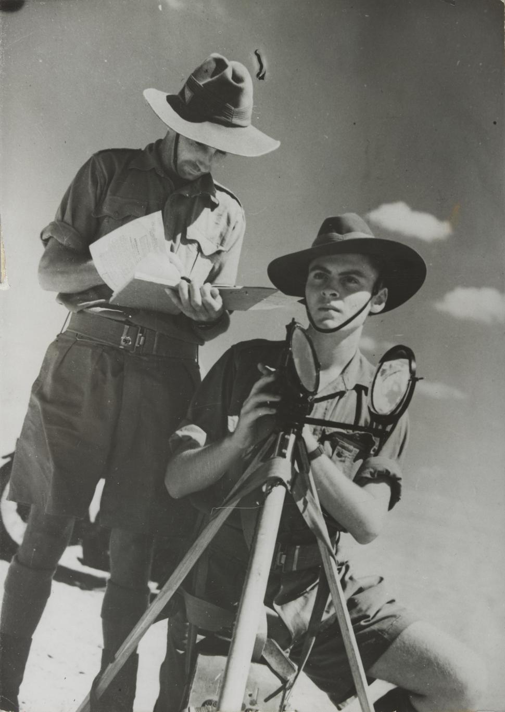 Australian Heliograph in Egyptian Desert 1940
