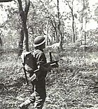 Australian Owen gun exercise, April 1944, Queensland