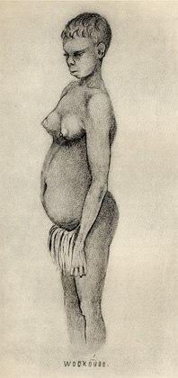 Australian woman by Thomas Henry Huxley