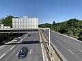 Autoroute A104 vue depuis Pont Avenue Paul Vaillant Couturier Villepinte Seine St Denis 3.jpg