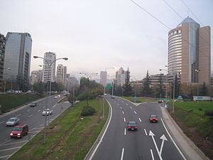 Santiago Metropolitan Region - Image: Av Kennedy Santiago Chile 2005