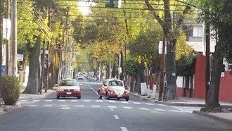 Azcapotzalco - Image: Avenida Azcapotzalco