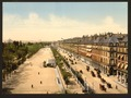 Avenue de la opera (i.e. Rue de Rivoli) and the garden of the Tuileries, Exposition Universal, 1900, Paris, France-LCCN2001698570.tif