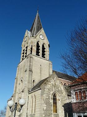 Église d'Avesnes-les-Aubert.